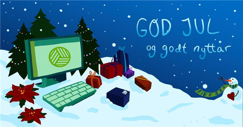 Riktig god jul og godt nytt år!