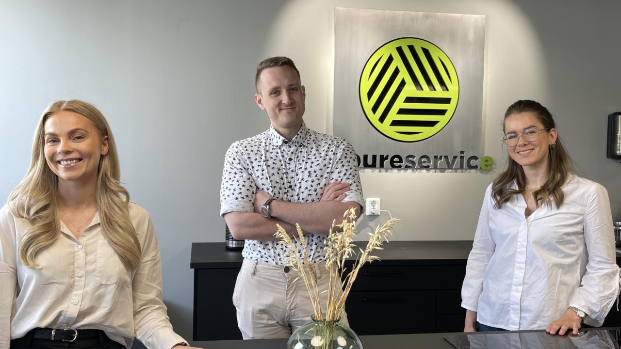 Møt våre nyeste tilskudd i Pureservice